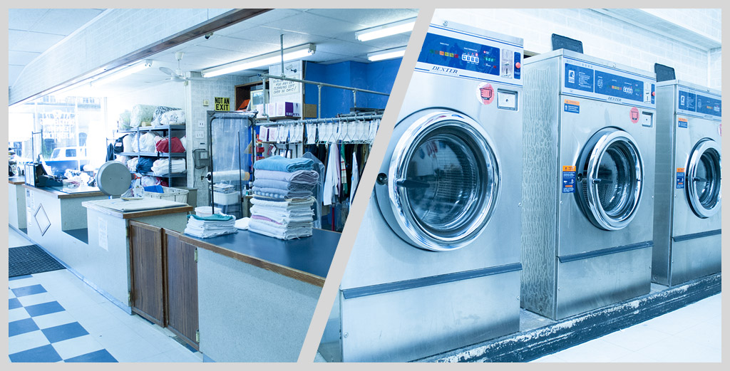 Laundry services with pick up